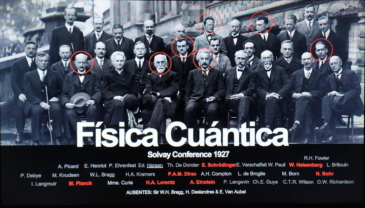 Descubridores de la física cuántica