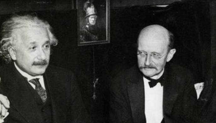 Einstein y Planck